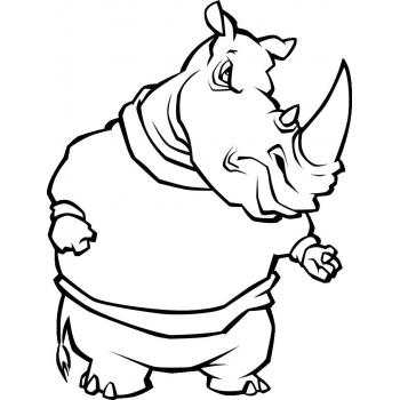Носорог силач