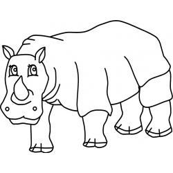 Огромный носорог