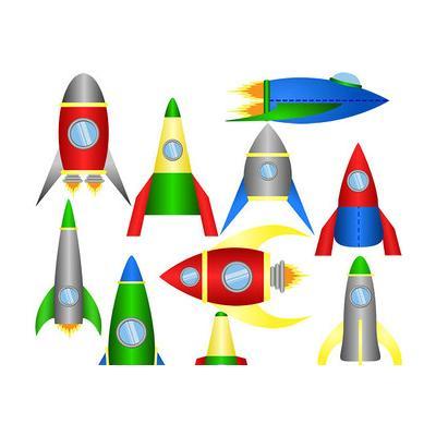 Раскраска ракета для детей 9 лет