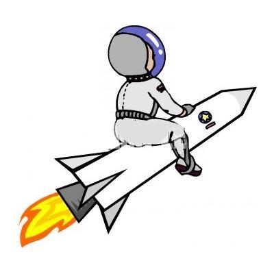 раскраска ракета для школы