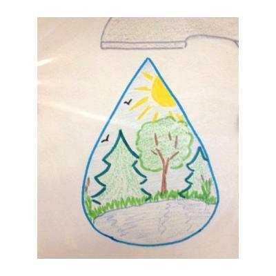 Раскраска на экологическую тему