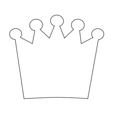 Трафарет Королевская корона