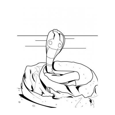 Хитрая змея