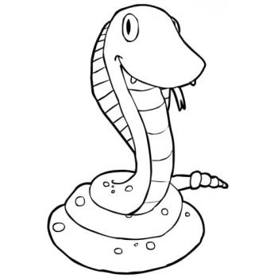 Милая змейка