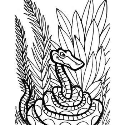 Юркая змейка