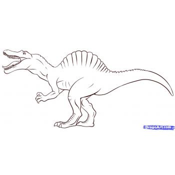 Динозавр - спинозавр