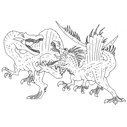 Грозный спинозавр