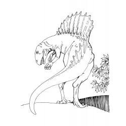 Как раскрасить спинозавра