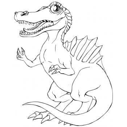 Рисунок спинозавра