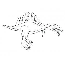 Хищный спинозавр
