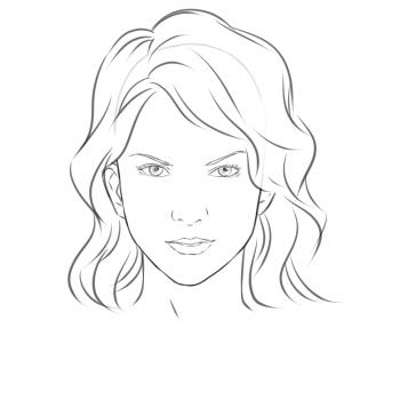 Черно-белые рисунки для срисовки в ЛД - распечатать, скачать бесплатно