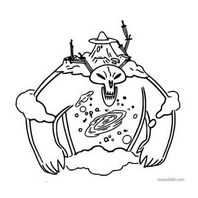 Раскраска Звездочка Баттерфляй - распечатать, скачать бесплатно