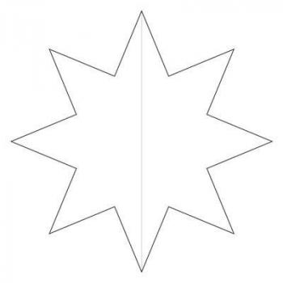 Трафарет Звезда