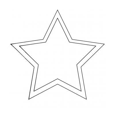 трафареты звезды