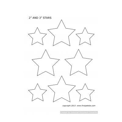 Шабон звезды