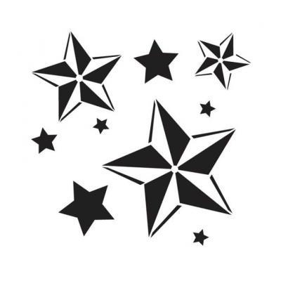 объемные звездочки