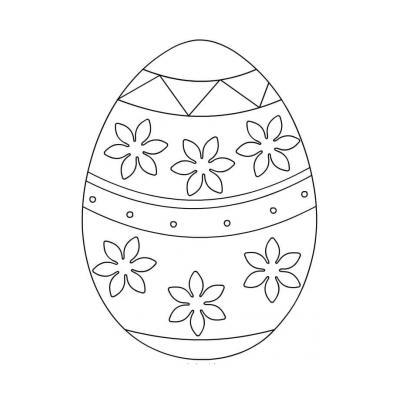 Пасхальные вытынанки яйца