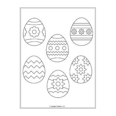 яйцо трафарет
