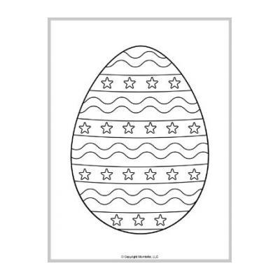 шаблон яйца для вырезания из бумаги