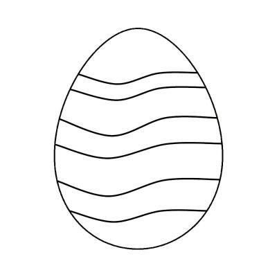 яйца на пасху раскраска