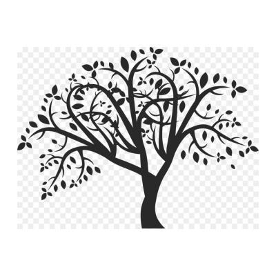 Шаблон дерева на окно