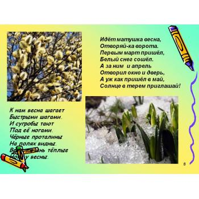 Стихотворение о весне для школьников