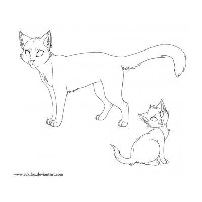 Трафарет кошка(для декора)