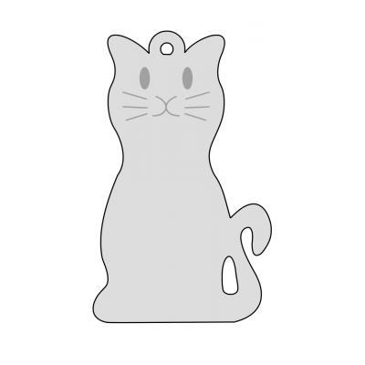 Контур кошки