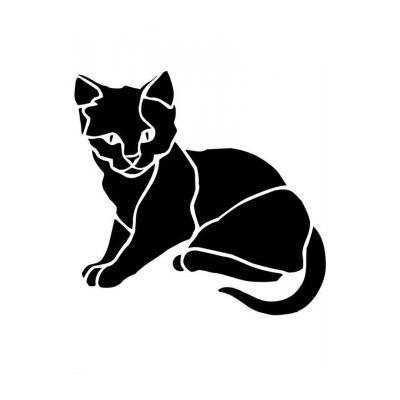 Шаблон кошка