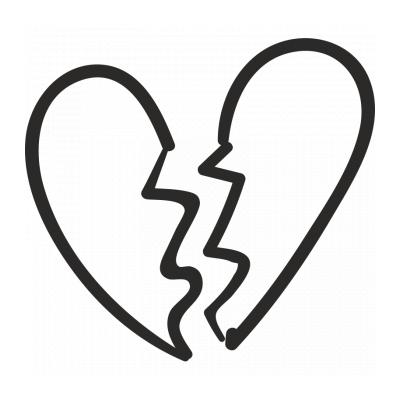 Шаблон ажурное сердце