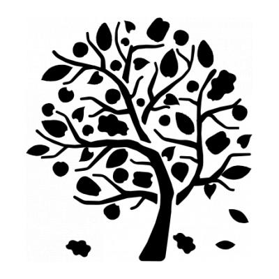Шаблон дерева для аппликации