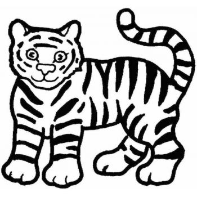 Тигр - хищный зверь