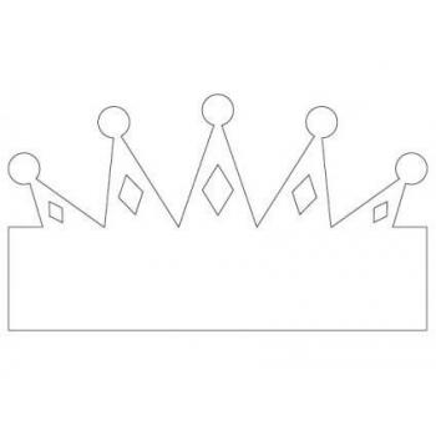Красивая корона шабон
