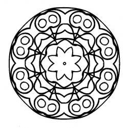 Шаблон объемные цветы