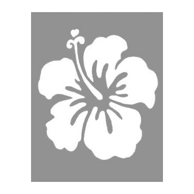 Шаблон Цветы на сером фоне