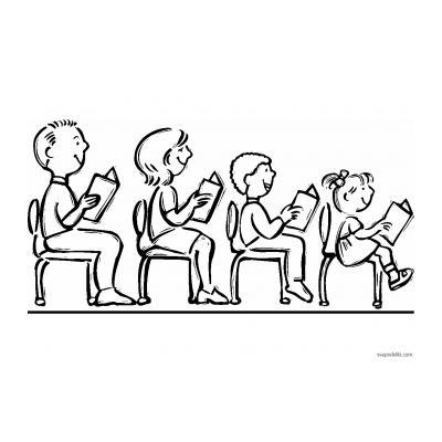 Школа - раскраска для детей - распечатать, скачать бесплатно