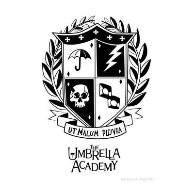 Раскраска Академия Амбрелла