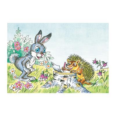 Иллюстрация к волшебной сказке придуманной детьми