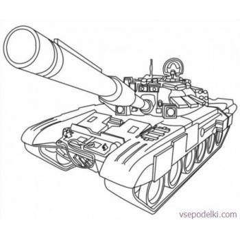 Раскраска Танки из World of tanks(world-of-tanks-raskraska-11)