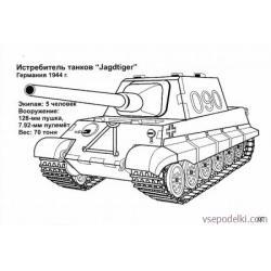 Раскраска Танки из World of tanks - распечатать, скачать бесплатно
