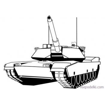 Раскраска Танки из World of tanks(world-of-tanks-raskraska-22)
