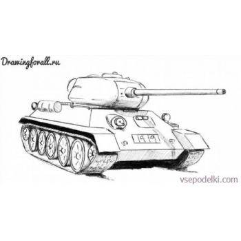 Раскраска Танки из World of tanks(world-of-tanks-raskraska-24)
