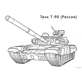 Раскраска Танки из World of tanks(world-of-tanks-raskraska-3)